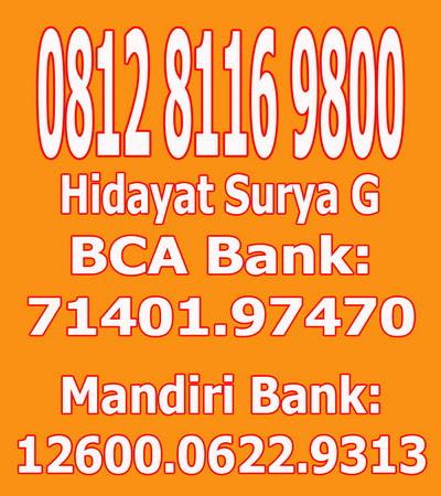 TELP/ WA/ BANKING