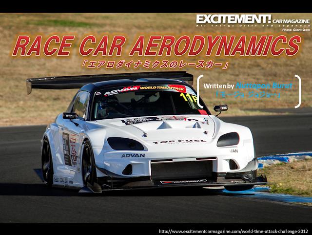 อากาศพลศาสตร์ของรถแข่ง (Race Car Aerodynamics)