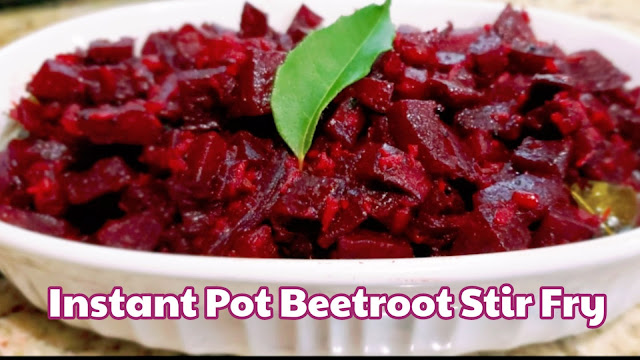 Instant Pot Beetroot Dry Curry