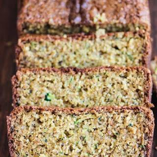 Gluten-Free Lemon Zucchini Poppy Seed Bread