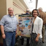 Former WB Supervisor David Flaisher & Gina Gregory, GWBHS President