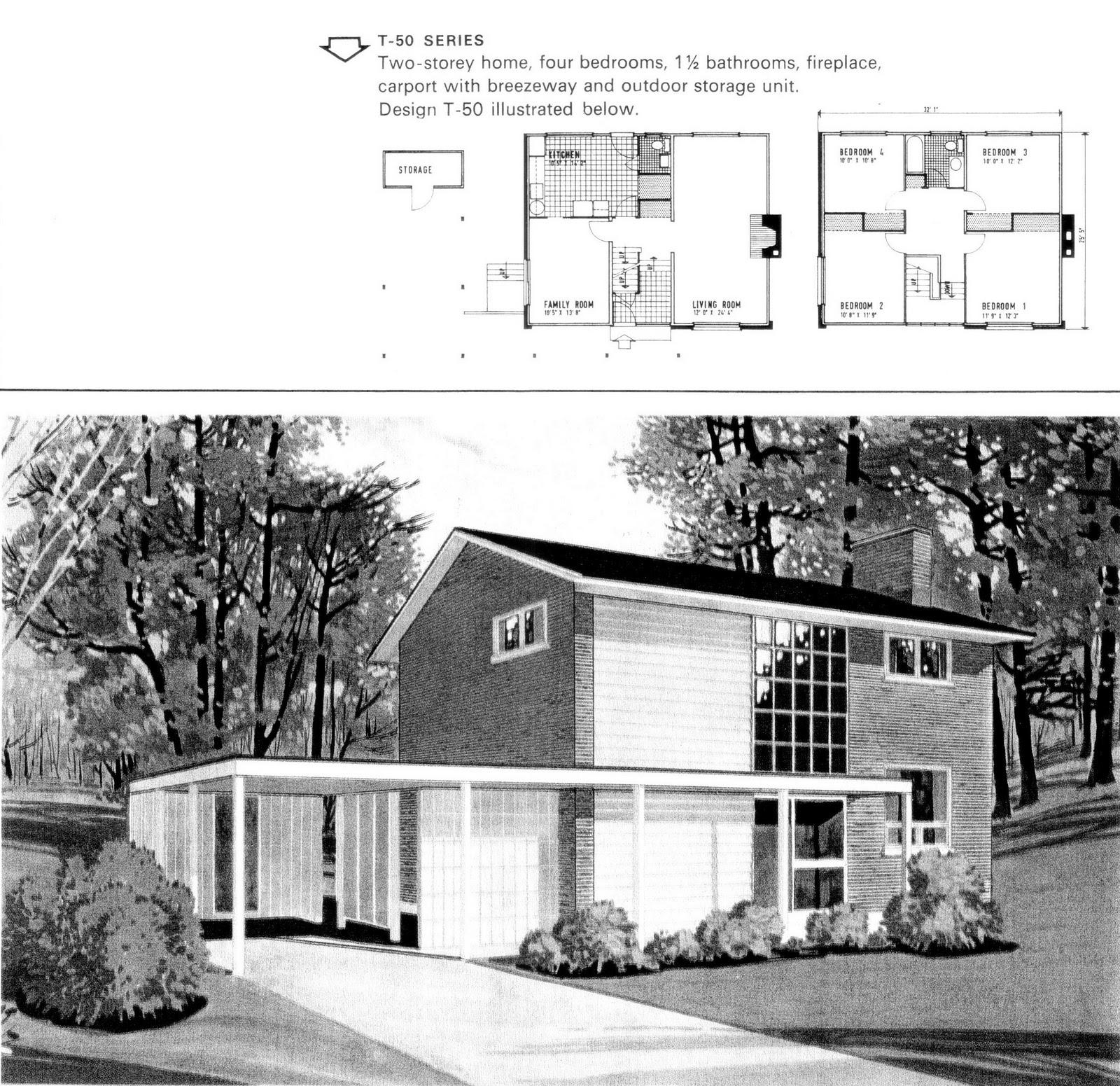 1970s Modern Home Architecture: Mid-Century Modern And 1970s-Era Ottawa