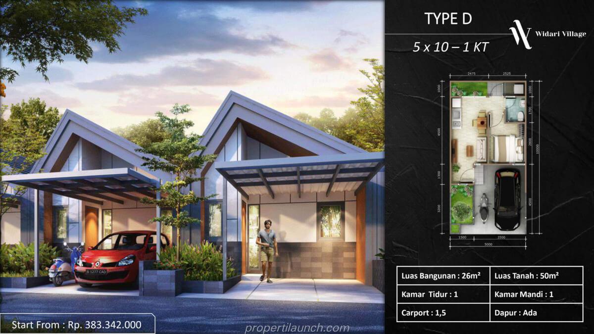 Rumah Widari Village Tipe D