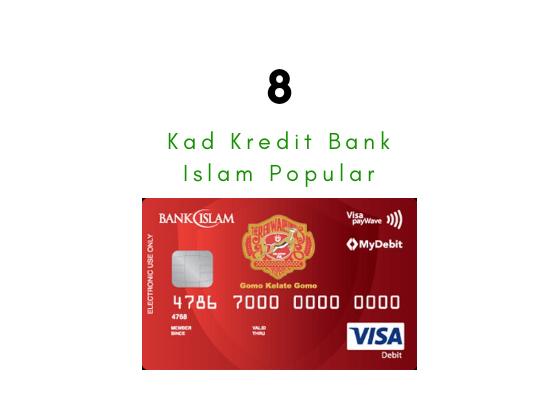 8 Kad Kredit Bank Islam Popular Lumba Kuda Networks Lumbakuda
