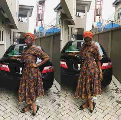 Check Out Wizkid Babymama, Sola Ogudugu Born Again Look To Church