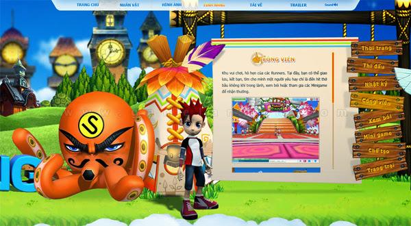 Trang giới thiệu GoGoRun đã chính thức trình làng 14
