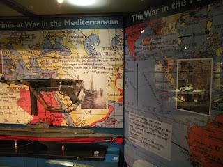 Госпорт. Музей Подводных Лодок. Экспонаты Второй Мировой Войны в Средиземном море.