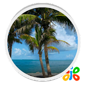 Beach Trees Live Wallpaper