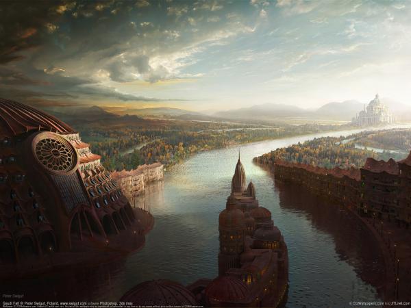 River Of Magic Old Land, Magical Landscapes 2