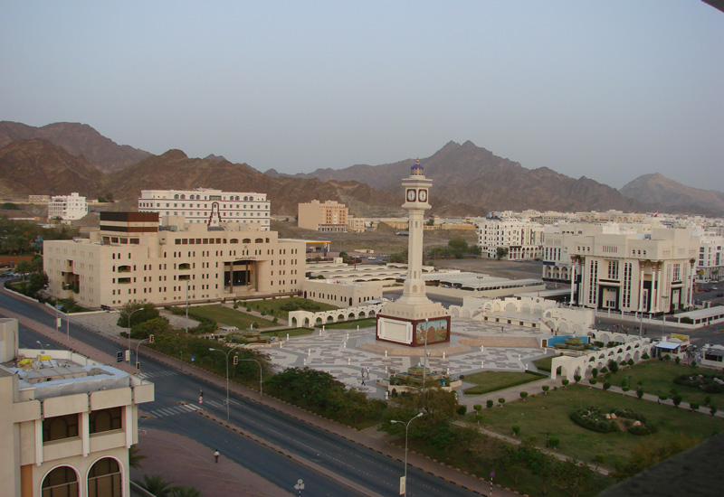 Oman - Muscat square and clock tower