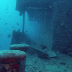 Bridge and boulders of the Thistlegorm
