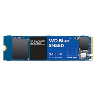Western Digital WD SN550 1TB NVMe Internal SSD - 2400MB/s