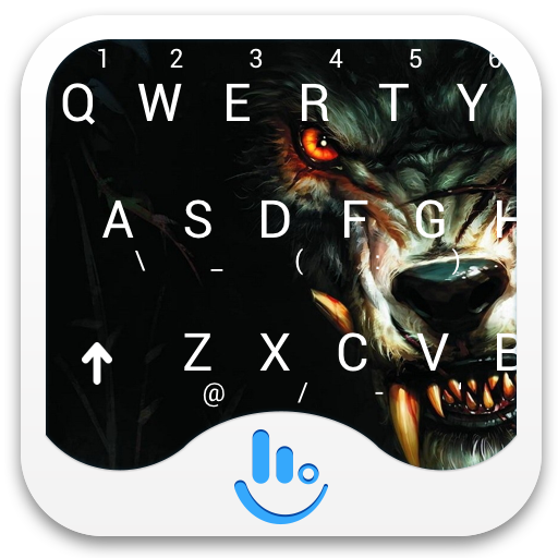 TouchPal Bloody Wolf Keyboard