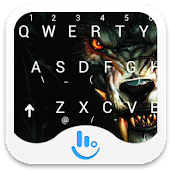 TouchPal Bloody Wolf Keyboard