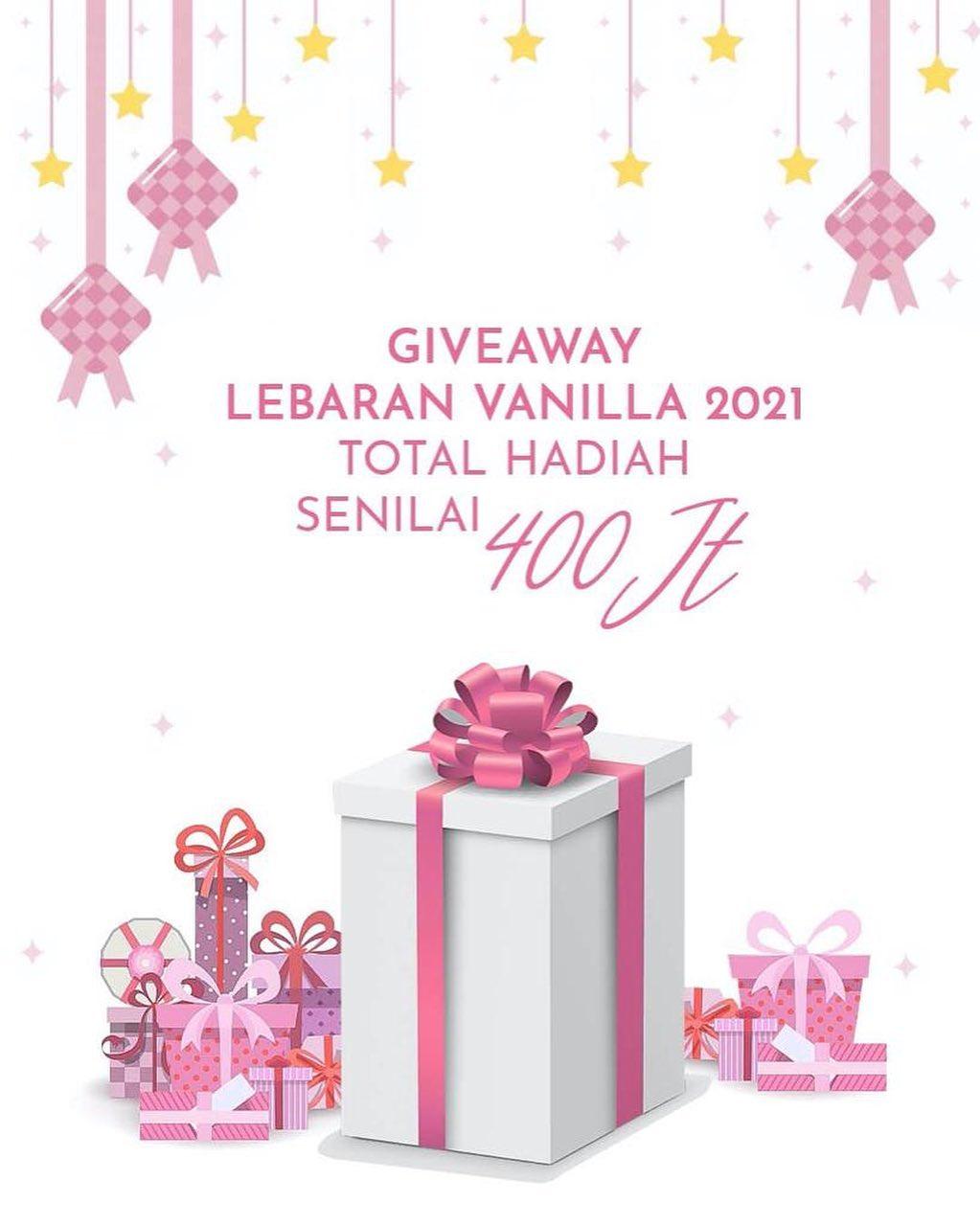 Giveaway Vanilla Hijab