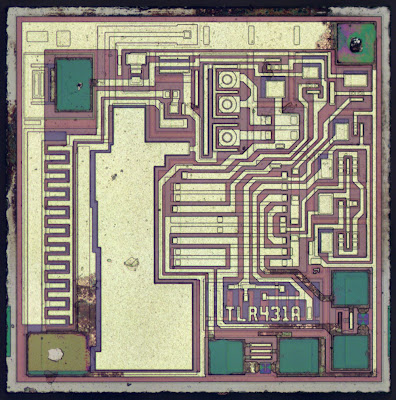 Thumbnail of the TL431 die.