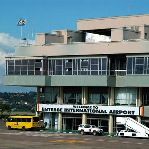 The main airport close to Kampala - the capital