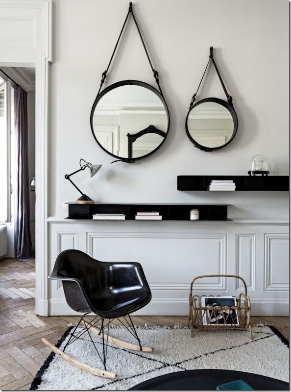 case-e-interni-bianco-nero-chic-francese-appartamento-6