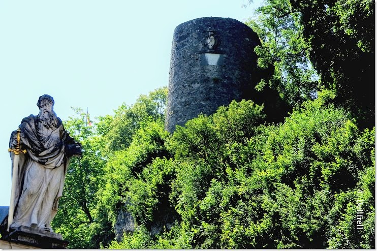 Paulus und Festungswehrturm