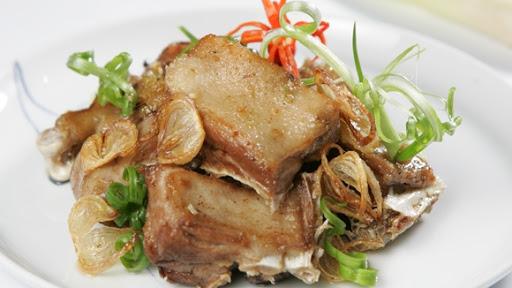 Thịt vịt rang muối
