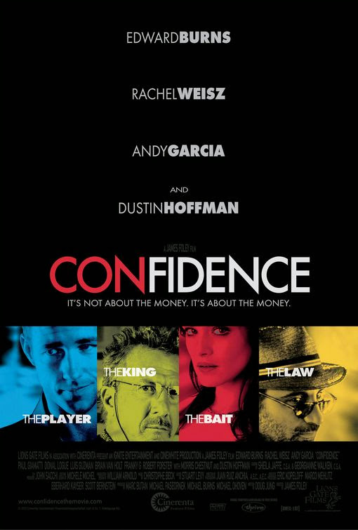 Poster Of Confidence (2003) Full Movie Hindi Dubbed Free Download Watch Online At Alldownloads4u.Com
