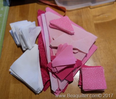pink girl QUBE quilt1