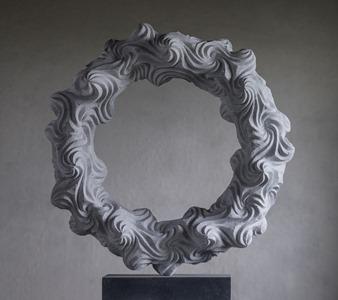 Paluno: CARRARA MARBLE, 2015: W 56cm, H 74 cm, D 19 cm; £7,000