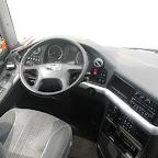 Het dashboard van de M.A.N van Connexxion tours bus 209