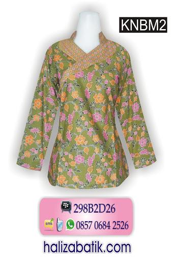 baju muslim modern, gambar motif batik, pakaian wanita