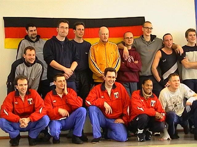 Freundschaftswett- kampf gegen das französiche Nationalteam 2003 - IMGA0146.JPG