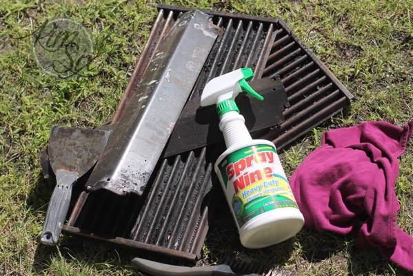 Dirty grill grates