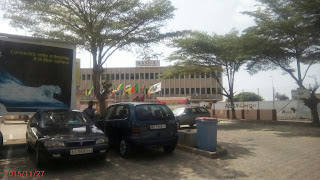 Cotonou's main airport