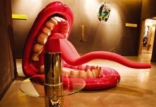 Photo: Contemporary art is all the rage at the Nhow hotel in Milan