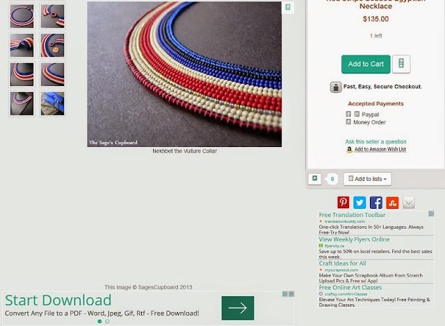 ArtFire Page Ads