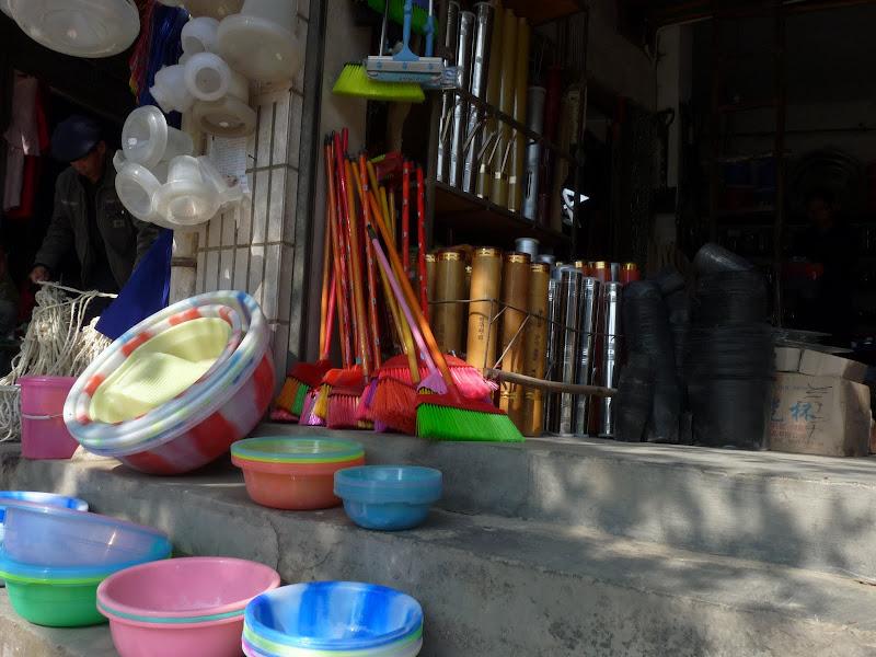 Chongning, vente de pipes a eau