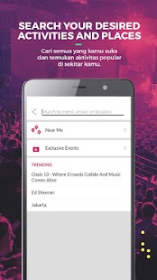 Goers - Activities Finder & Cinema Booking App - náhled