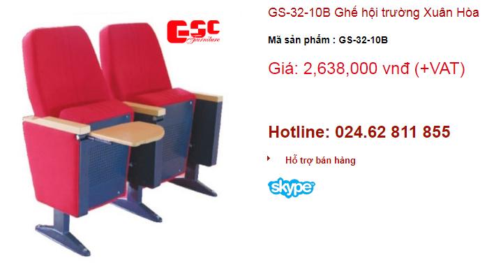 Ghế xuân Hòa mã sản phẩm GS-32-10B