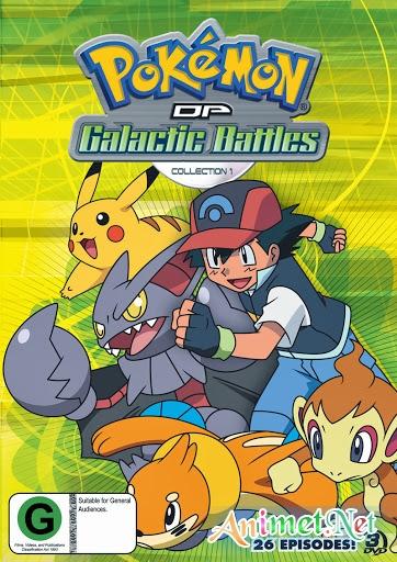 Pokemon Season 12 : Diamond And Pearl Galactic Battles - Bửu bối thần kì Phần 12 | Pokemon Phần 12 (2006)