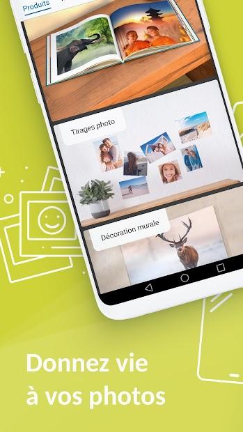 Photomoinscher - Album & impression de photos Android App Screenshot