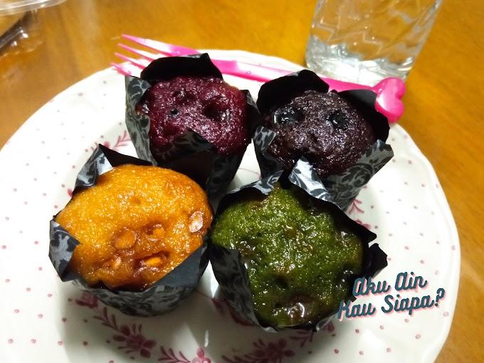 Minum Petang Dengan Muffin 4 Sekawan