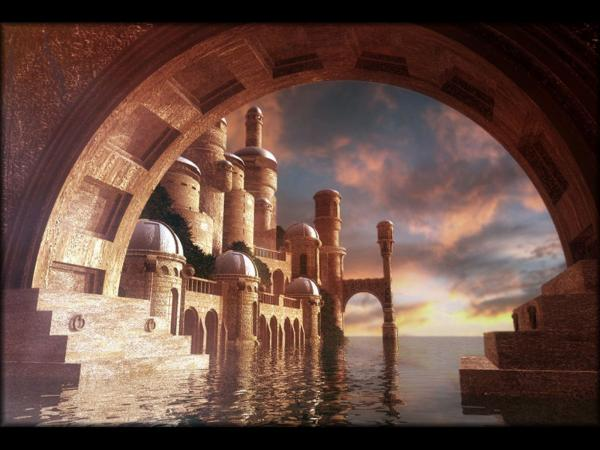 Temple On The River, Magical Landscapes 2