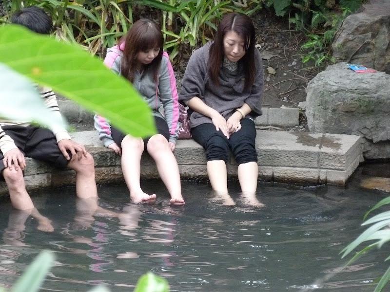 Jiaoshi,sources chaudes publiques