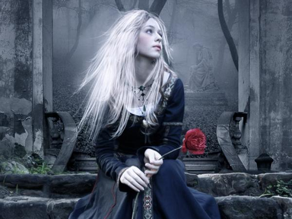 Loneliness With A Rose, Gothic