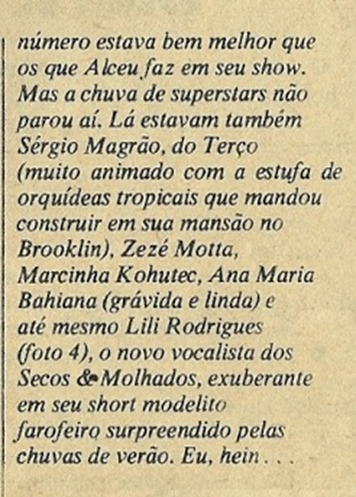 Angela Dust (Ezequiel Neves), Conta Tudo - Pop 1978-06