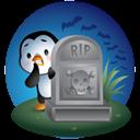 Pingüino Halloween - En el cementerio del terror