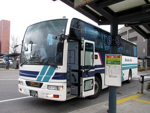 道北バス「ノースライナーみくに号」 1058 帯広駅前にて その2