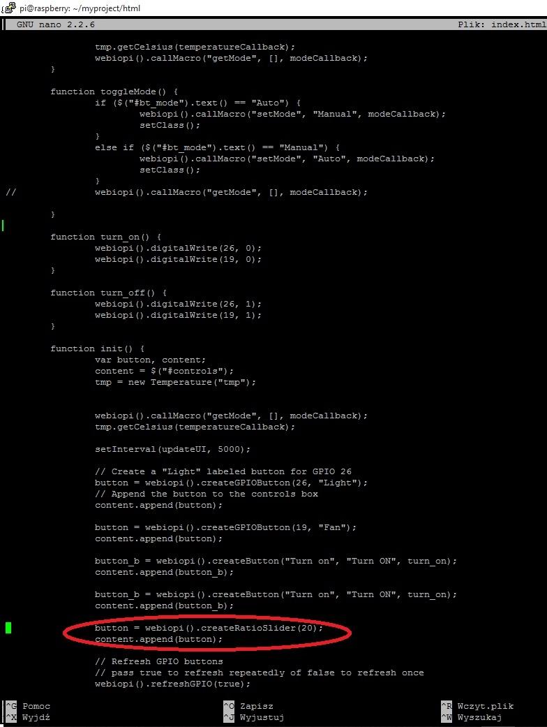 WebIOPi createRatioSlider(gpio, ratio) - PWM control - Google Groups