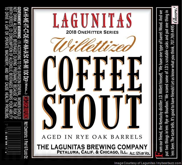 Lagunitas Willitized Coffee Stout Returns to 2018 OneHitter Series