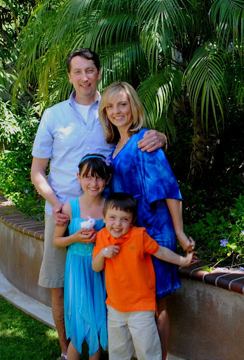 Colleen Lanin, author of the Travel Mamas' Guide, and family
