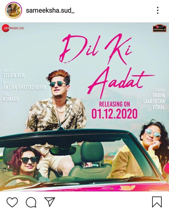 """""""Dil Ki Aadat"""" - New Song By Stebin Ben,"""